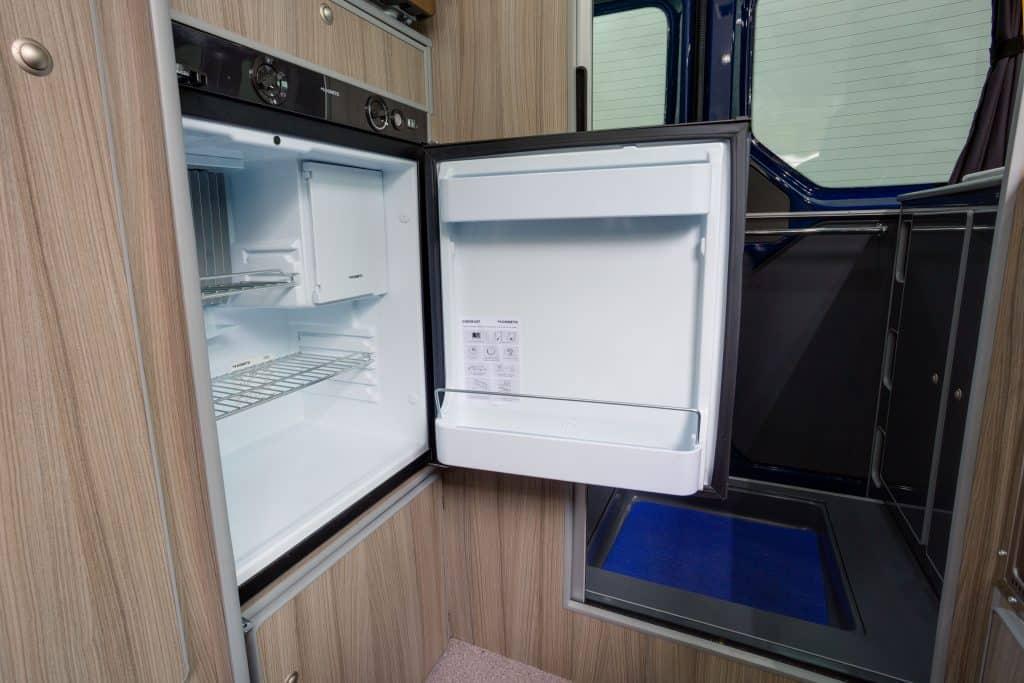 small camper vans fridges