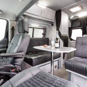 interior Ford van conversions