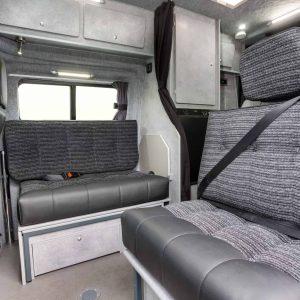 Campervan for sale interior