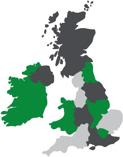 Campervans Regional Map